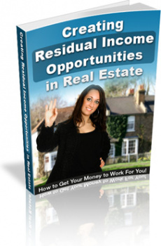 Ebook cover: Residual Income Opportunities in Real Estate