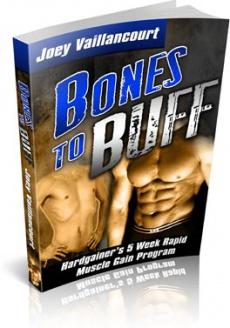 Ebook cover: Bones to Buff