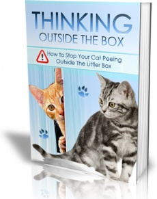 Ebook cover: Stop Your Cat Peeing Outside The Litter Box