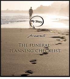 Ebook cover: Funeral Planning Checklist: A Guide to Completing Your Funeral Plans