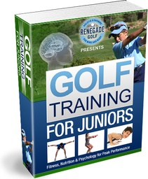 Ebook cover: Golf Training For Juniors