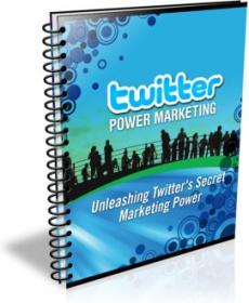 Ebook cover: Twitter Power Marketing