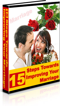Ebook cover: 15 Steps Toward Improving Your Marriage