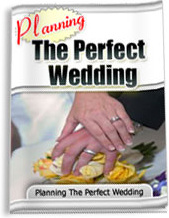 Ebook cover: Planning the Perfect Wedding