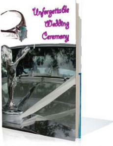 Ebook cover: Unforgettable Wedding Ceremony