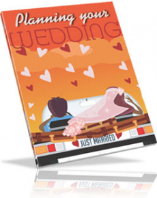 Ebook cover: PLANNING YOUR WEDDING
