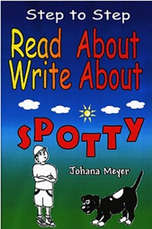 Ebook cover: Read About Write About Spotty