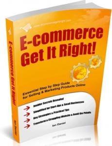Ebook cover: E-commerce: Get It Right!