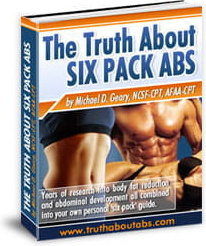 Ebook cover: The Truth About Six Pack Abs