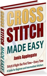 Ebook cover: Cross Stitch Made Easy