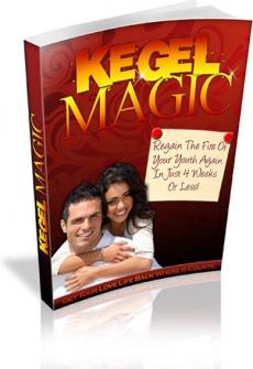 Ebook cover: Kegel Magic