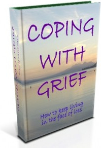 Ebook cover: Coping with Grief