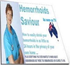 Ebook cover: Hemorrhoids Saviour