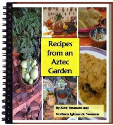 Ebook cover: Recipes from an Aztec Garden