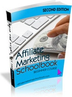 Ebook cover: Affiliate Marketing Schoolbook