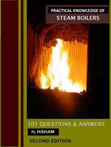Ebook cover: 101 Q&A PRACTICAL KNOWLEDGE OF STEAM BOILERS 2ND EDITION
