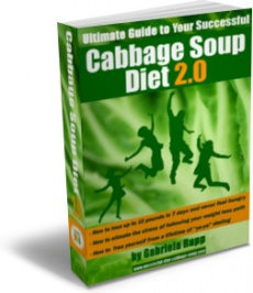 Ebook cover: Cabbage Soup Diet 2.0