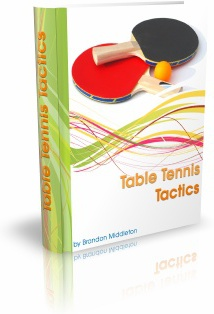 Ebook cover: Table Tennis Tactics