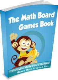 Ebook cover: The Math Board Games