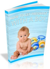 Ebook cover: How To Get Pregnant With A Boy