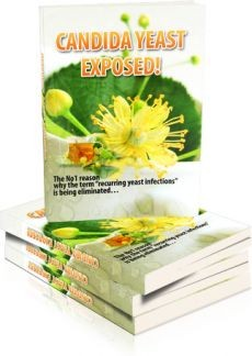 Ebook cover: Candida Yeast Exposed!