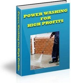Ebook cover: Power Washing For High Profits