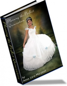 Ebook cover: Planning the Perfect Quinceanera