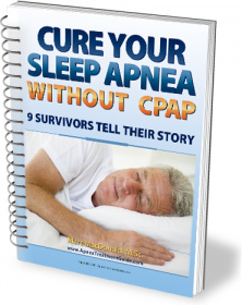 Ebook cover: Cure Your Sleep Apnea Without CPAP