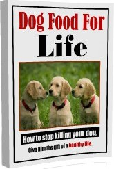Ebook cover: Dog Food For Life