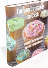 Ebook cover: Turning Cupcakes into Cash