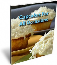 Ebook cover: Cupcakes For All Occasions