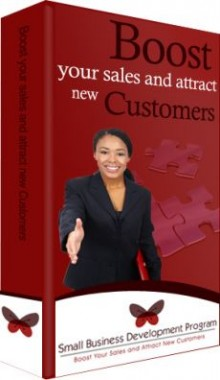 Ebook cover: Boost your sales and attract new customers