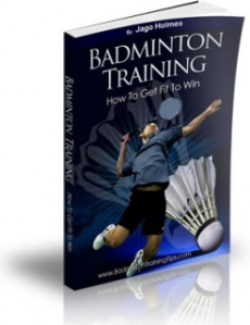 Ebook cover: Badminton Training - How To Get Fit To Win