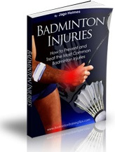 Ebook cover: Badminton Injuries - How to Prevent and Treat the Most Common Badminton Injuries