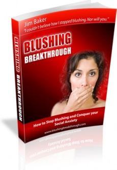 Ebook cover: Blushing Breakthrough