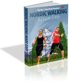 Ebook cover: Nordic Walking Made Easy