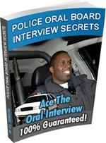 Ebook cover: Police Oral Board Interview Secrets
