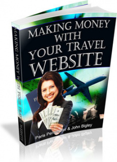 Ebook cover: Making Money With Your Travel Website