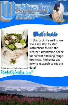 Ebook cover: Wedding Day Weather
