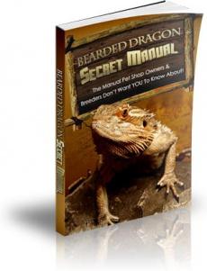 Ebook cover: Bearded Dragon Secret Manual