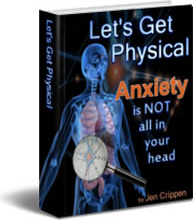Ebook cover: Anxiety Is Not All In Your Head