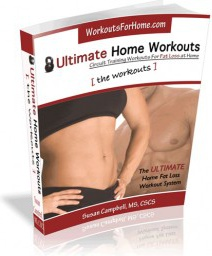 Ebook cover: Ultimate Home Workouts