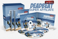Ebook cover: Deadbeat Super Affiliate