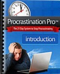 Ebook cover: Procrastination Pro: The 21-day System to Stop Procrastinating