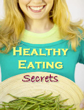 Ebook cover: Healthy Eating Secrets