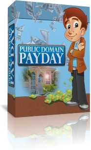 Ebook cover: Public Domain Payday