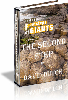 Ebook cover: In The Footsteps of Giants