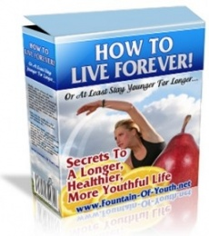 Ebook cover: How to Live Forever