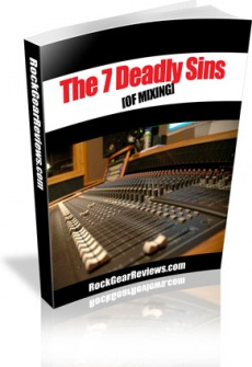 Ebook cover: The 7 Deadly Sins of Mixing