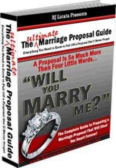 Ebook cover: The Ultimate Marriage Proposal Guide